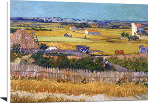De Oogst The Harvest Painting Vincent Van Gogh Canvas Art