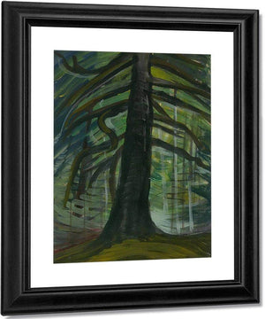 Dead Tree By In By The By Forest By Emily Carr