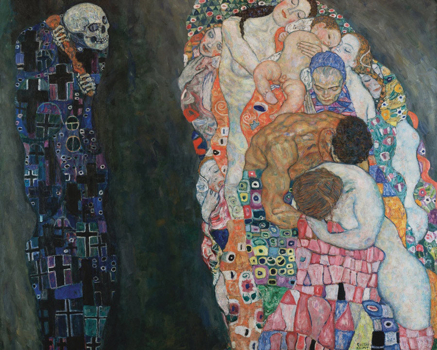 Death And Life 1910 1915 Leopold Museum By Gustav Klimt