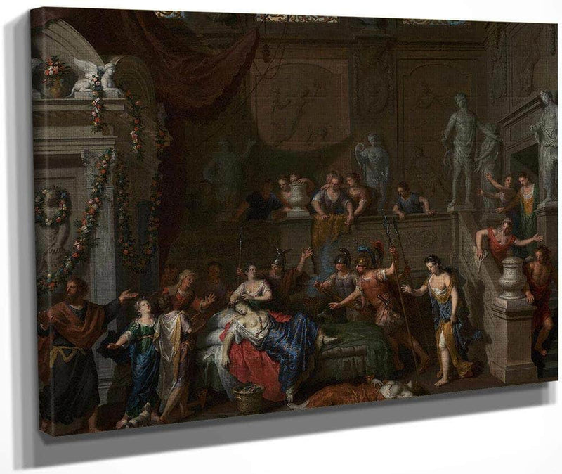 Death Of Cleopatra By Gerard Hoet