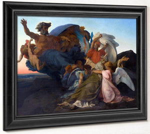 Death Of Moses 1850 Neoclassicism 140X204Cm Musee Fabre By Alexandre Cabanel