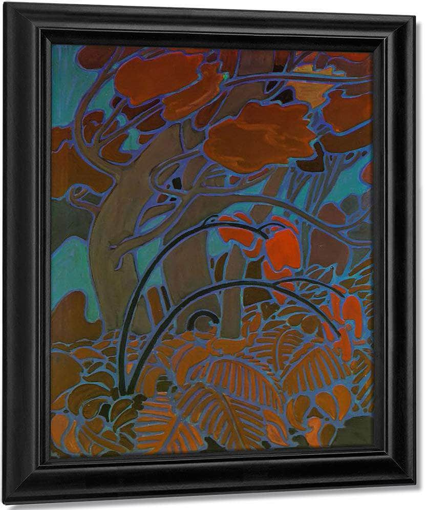 Decorative Panel By Tom Thomson