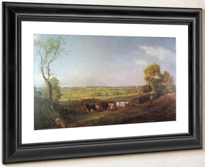 Dedham Vale Morning By John Constable