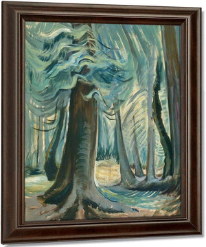 Deep Forest By Lighted By Emily Carr
