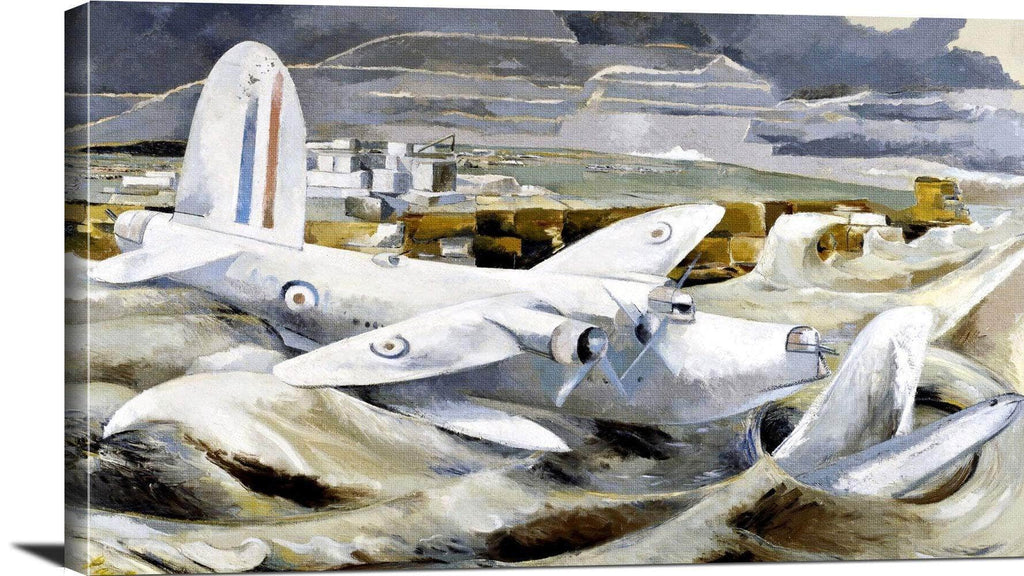 Defence Of Albion Painting Paul Nash Canvas Art