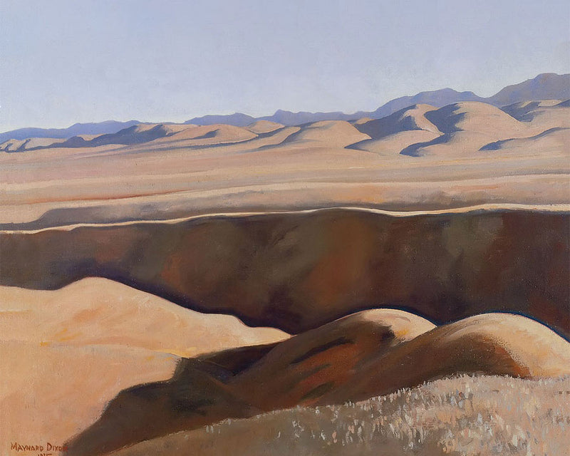Deserted Sheep Range By Maynard Dixon