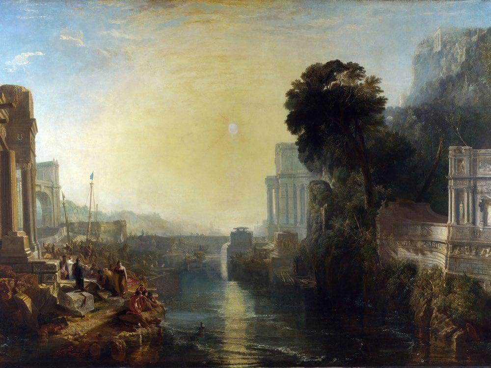Dido Building Carthage 1815 By Joseph Mallord William Turner