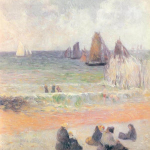 Dieppe Beach By Paul Gauguin