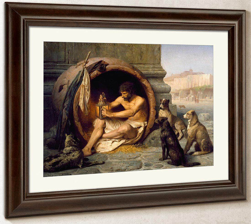 Diogenes By Jean Leon Gerome