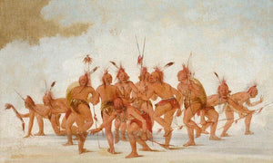 Discovery Dance, Sac And Fox By George Catlin