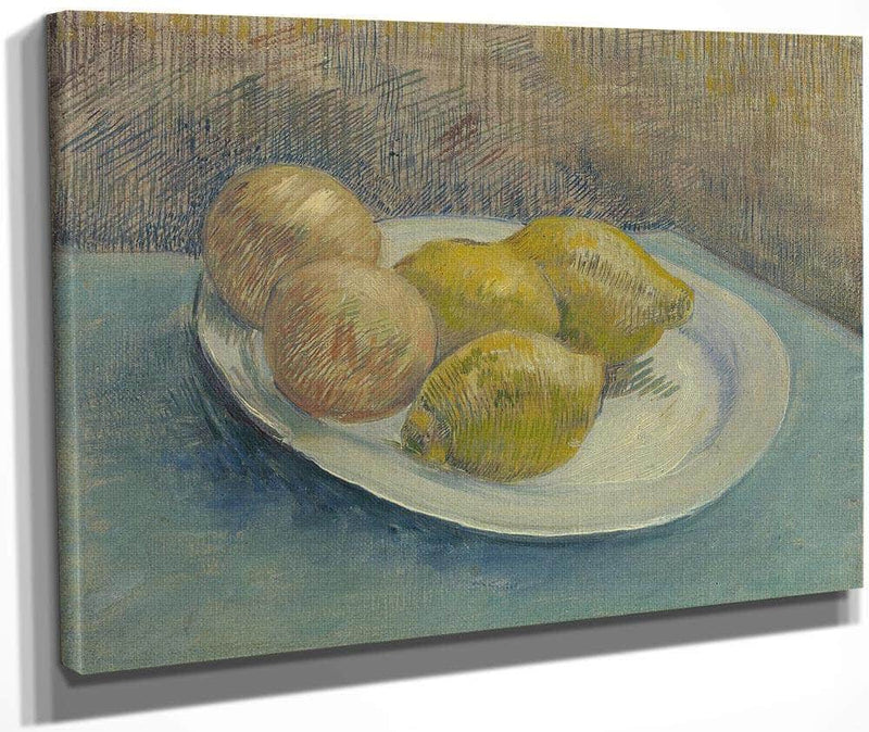 Dish With Citrus Fruit By Vincent Van Gogh