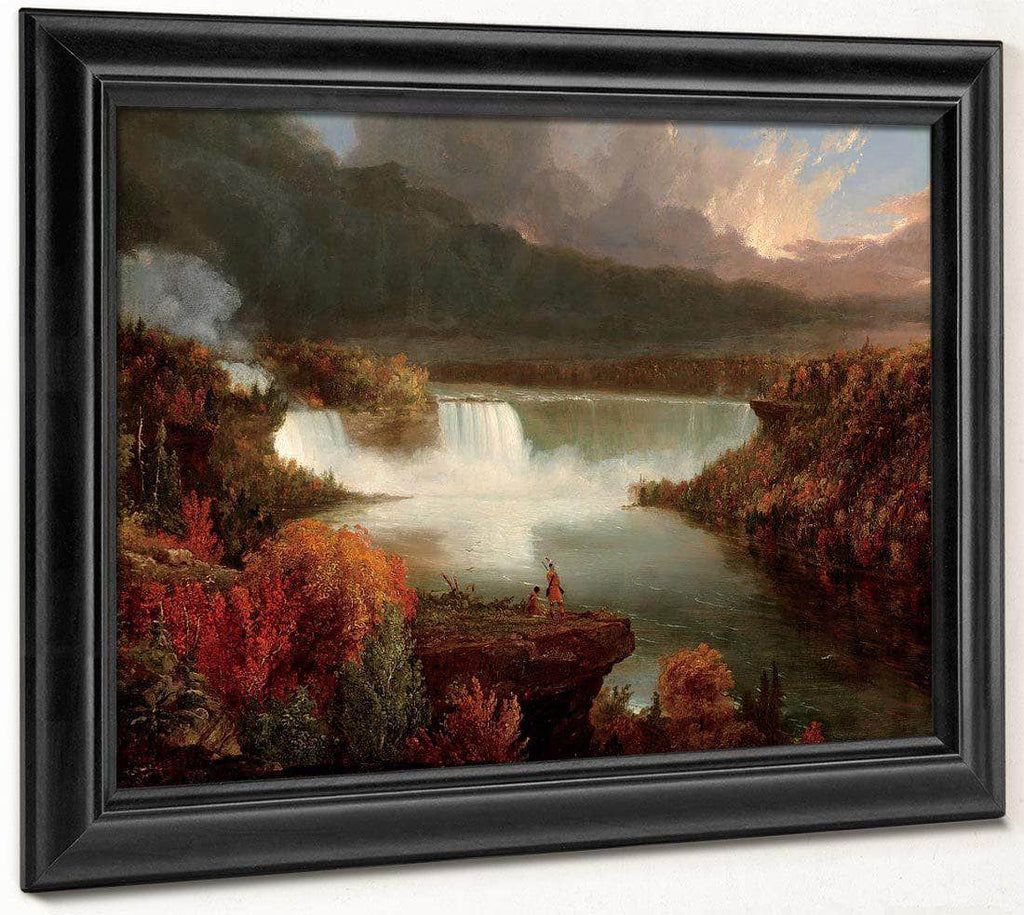 Distant View Of Niagara Falls 1830 By Thomas Cole