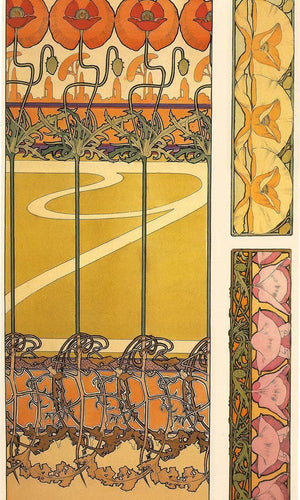 Documents Decoratifs By Alphonse Mucha