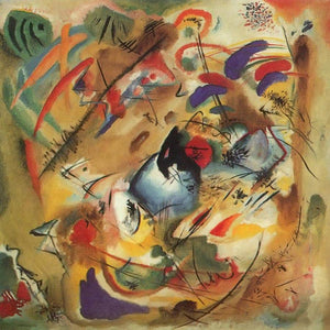 Dreamy Improvisation 1913 By Wassily Kandinsky