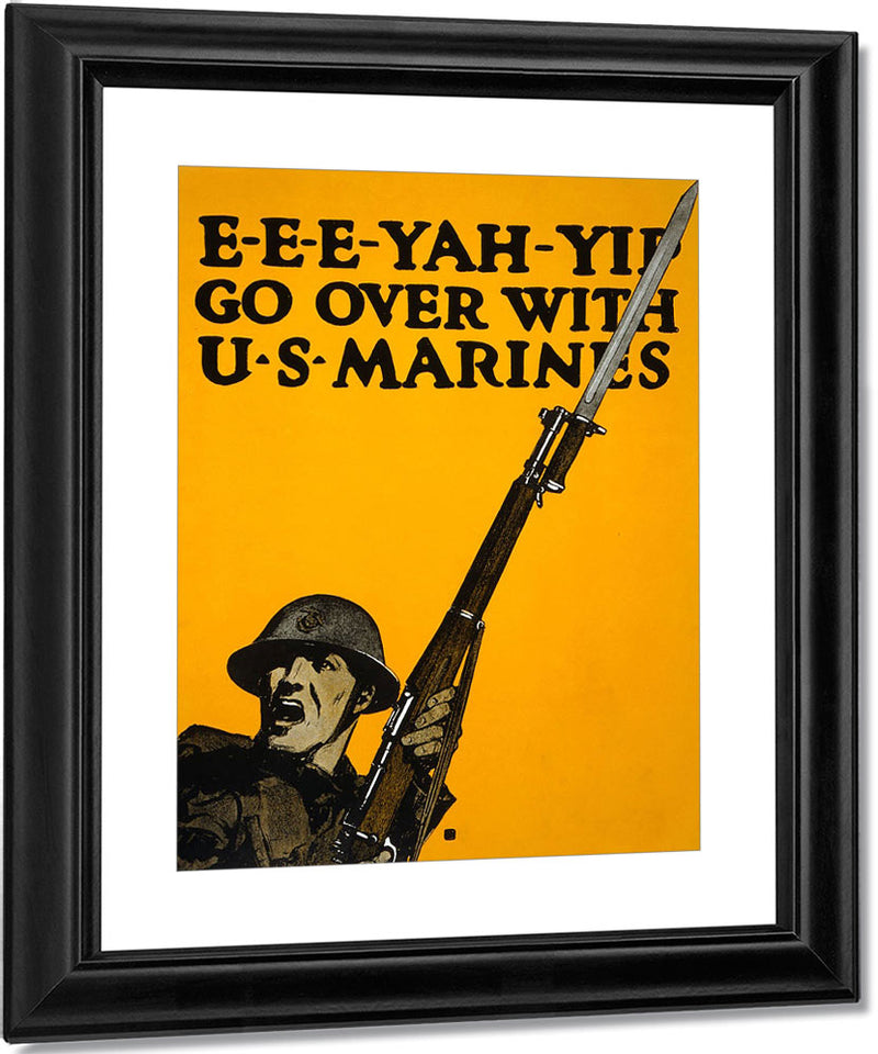 E E E Yah Yip Go Over With U.S. Marines By C.B. Falls