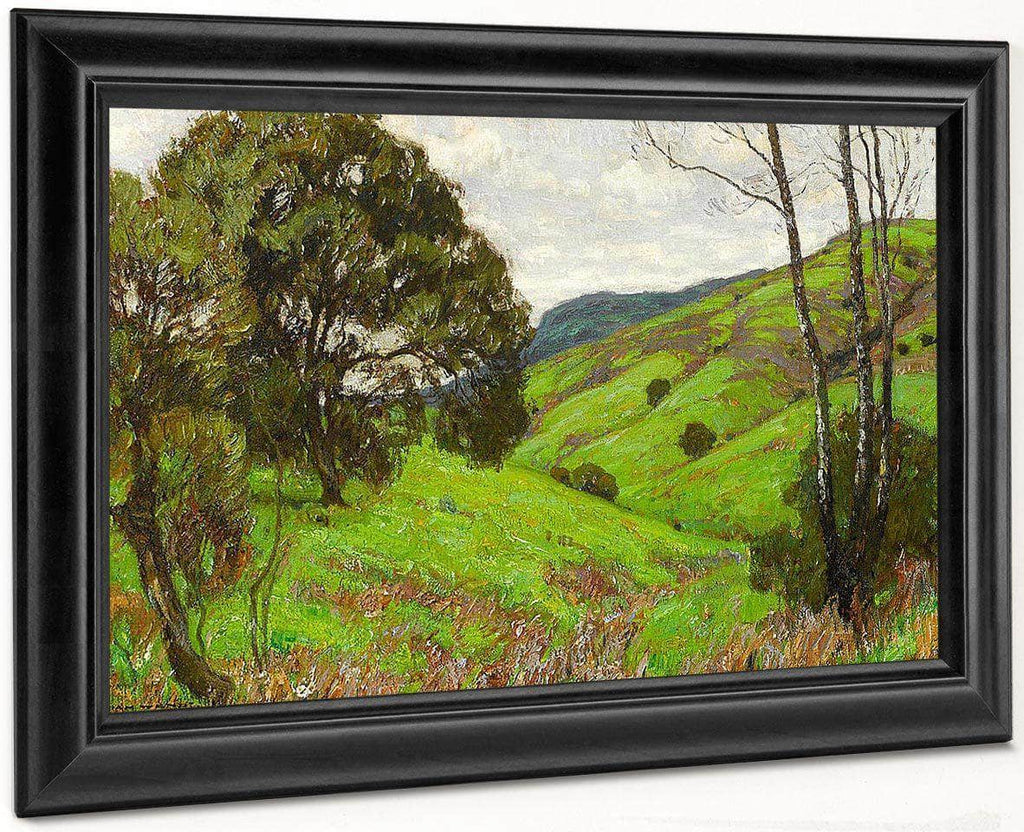 Early Laguna Landscape By William Wendt