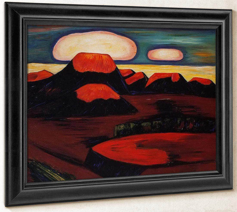 Earth Cooling Mexico By Marsden Hartley