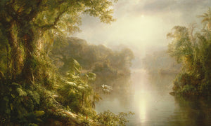 El Rio De Luz The River Of Light 1877 By Frederic Edwin Church