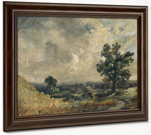 English Landscape Undated By John Constable