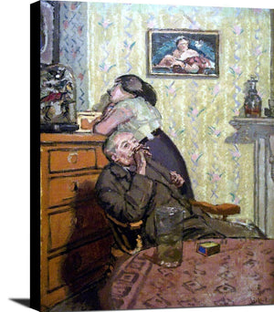 Ennui Painting Walter Richard Sickert Canvas Art
