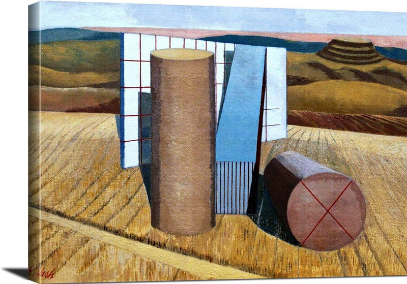 Equivalents For The Megaliths Painting Paul Nash Canvas Art