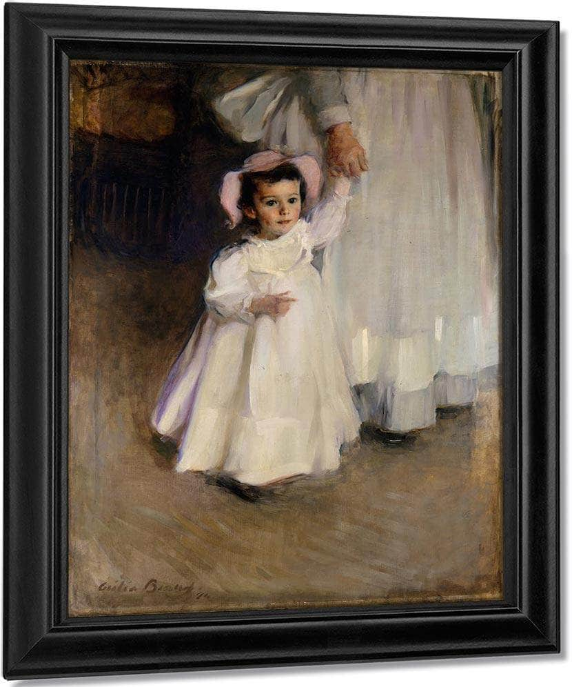 Ernesta Child With Nurse 1894 By Cecilia Beaux