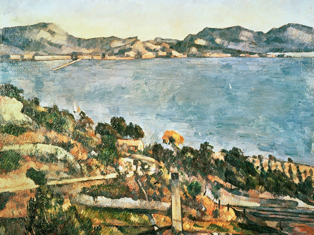 Estaque By Paul Cezanne