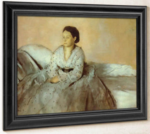 Estelle Musson By Edgar Degas
