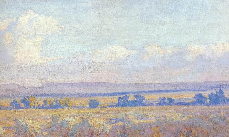 Evening In The Navajo Country By Maynard Dixon