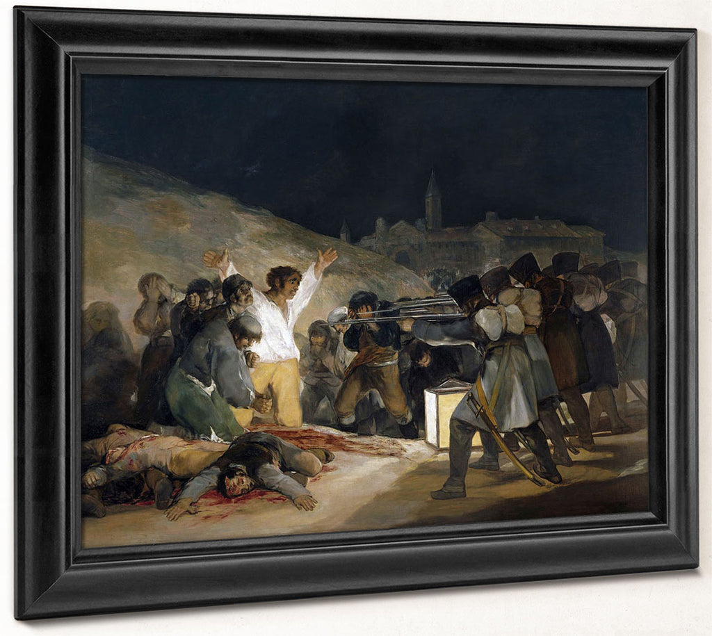 Executions On The Third Of May By Francisco De Goya