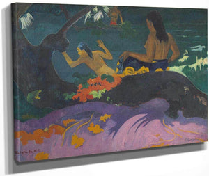 Fatata Te Miti By The Sea By Paul Gauguin