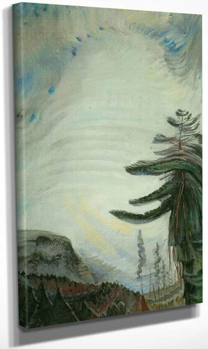 Fir Tree By And By Sky By Emily Carr