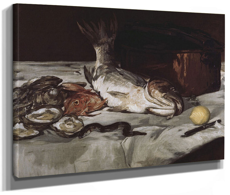 Fish (Still Life) By Edouard Manet