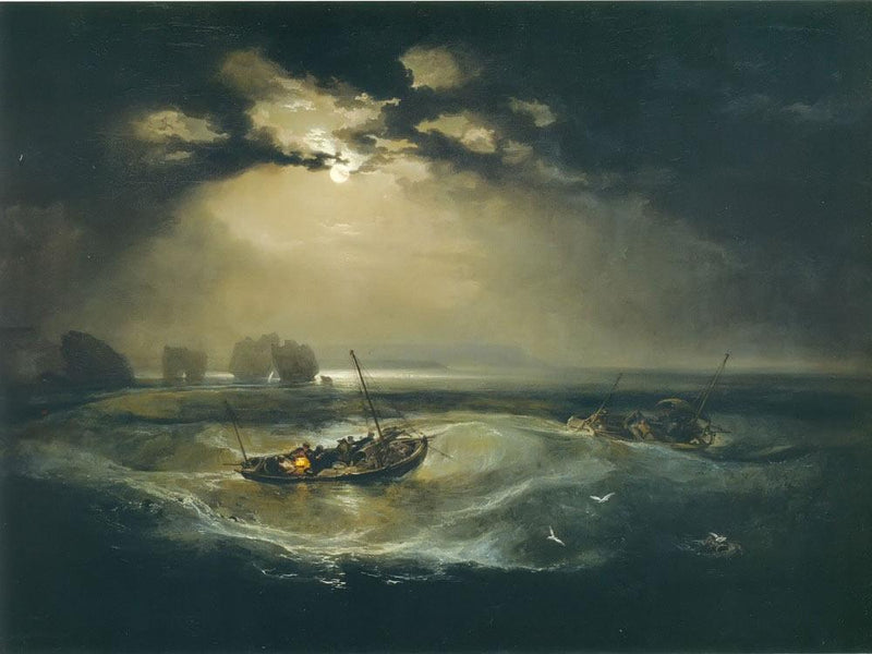 Fisherman At Sea (The Cholmeley Sea Piece) By Jwm Turner