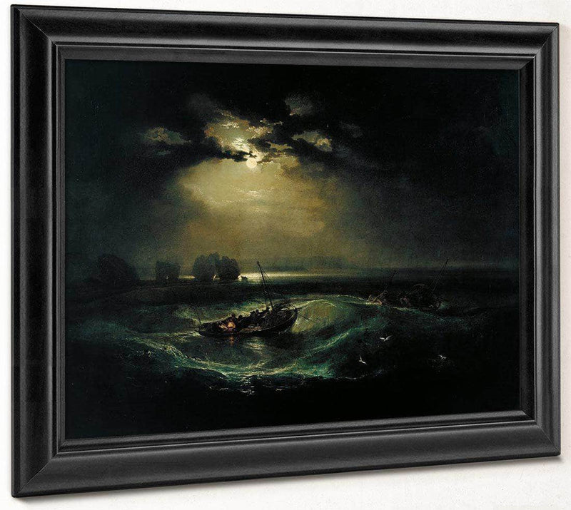 Fishermen At Sea 1796 1 By Joseph Mallord William Turner