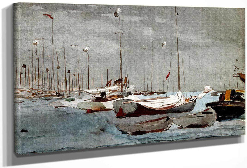 Fishing Boats Key West By Winslow Homer