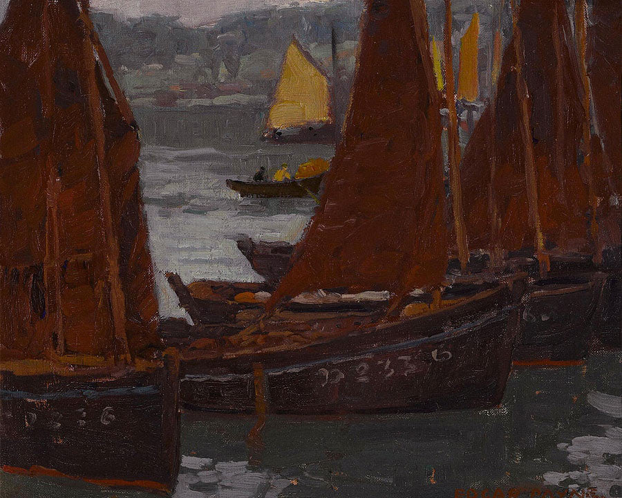 Fishing Boats By Edgar Payne12