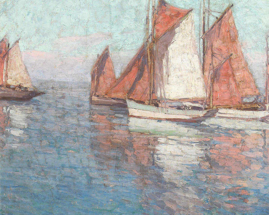 Fishing Boats By Edgar Payne1