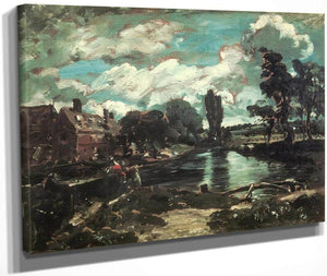 Flatford Mill From The Lock By John Constable