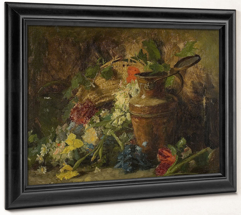 Flowers And Vase By Theodore Clement Steele