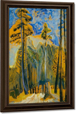 Forest 1932 By Emily Carr