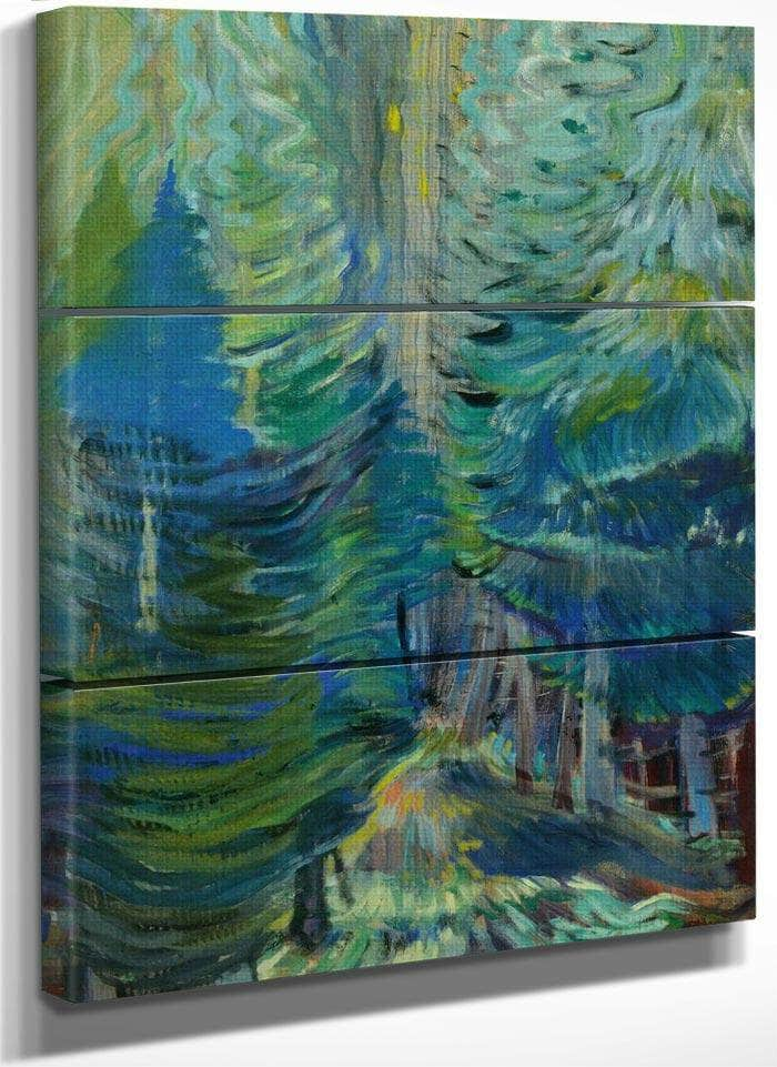 Forest 1935 By Emily Carr