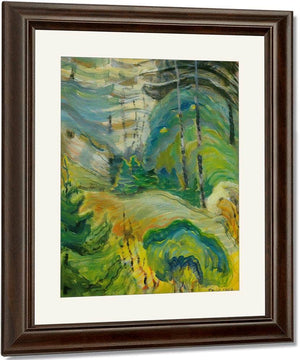 Forest Interior By 1936 By Emily Carr