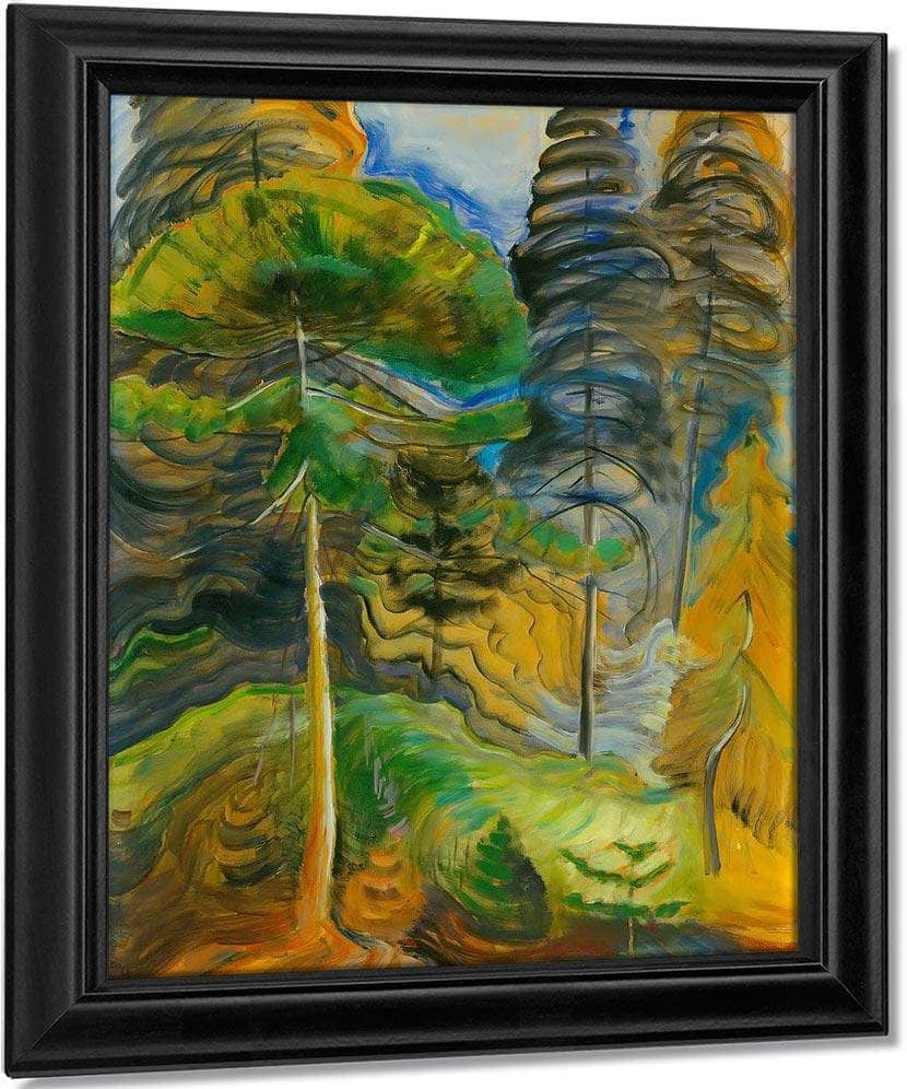 Forest Landscape By No By 2 By Emily Carr