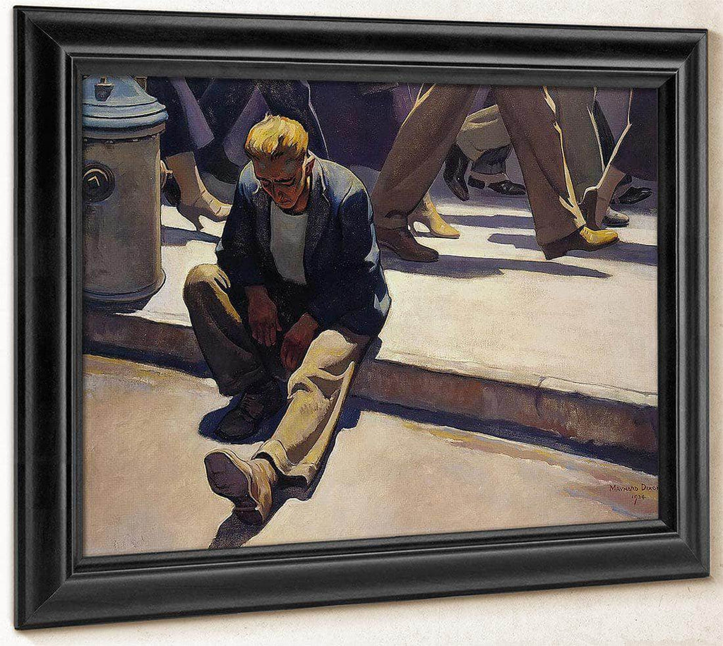 Forgotten Man By Maynard Dixon