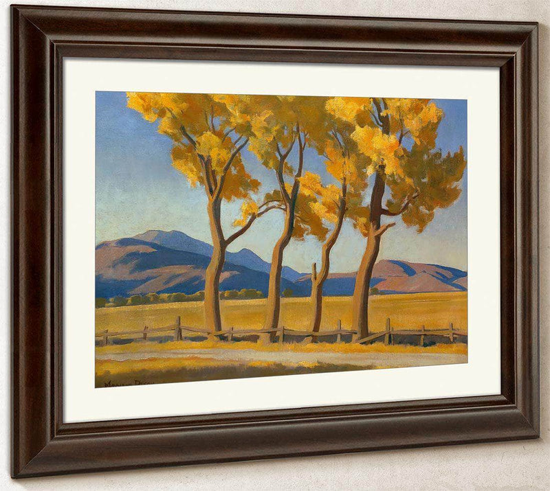 Four In October By Maynard Dixon