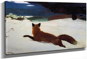 Fox By Hunt By Winslow Homer