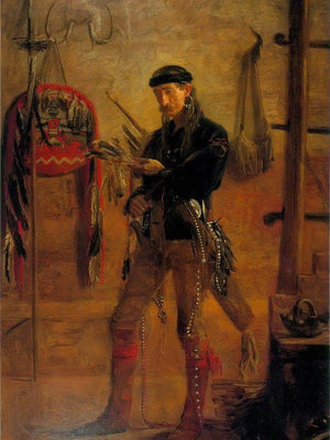 Frank Hamilton Cushing By Thomas Eakins
