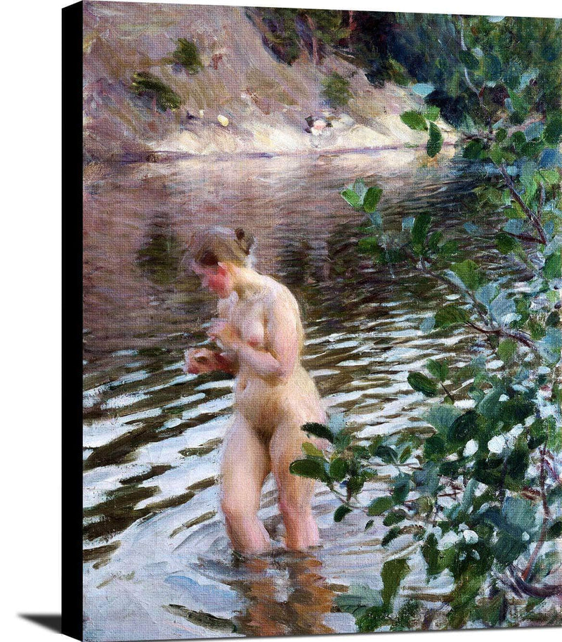 Frileuse Painting Anders Zorn Canvas Art