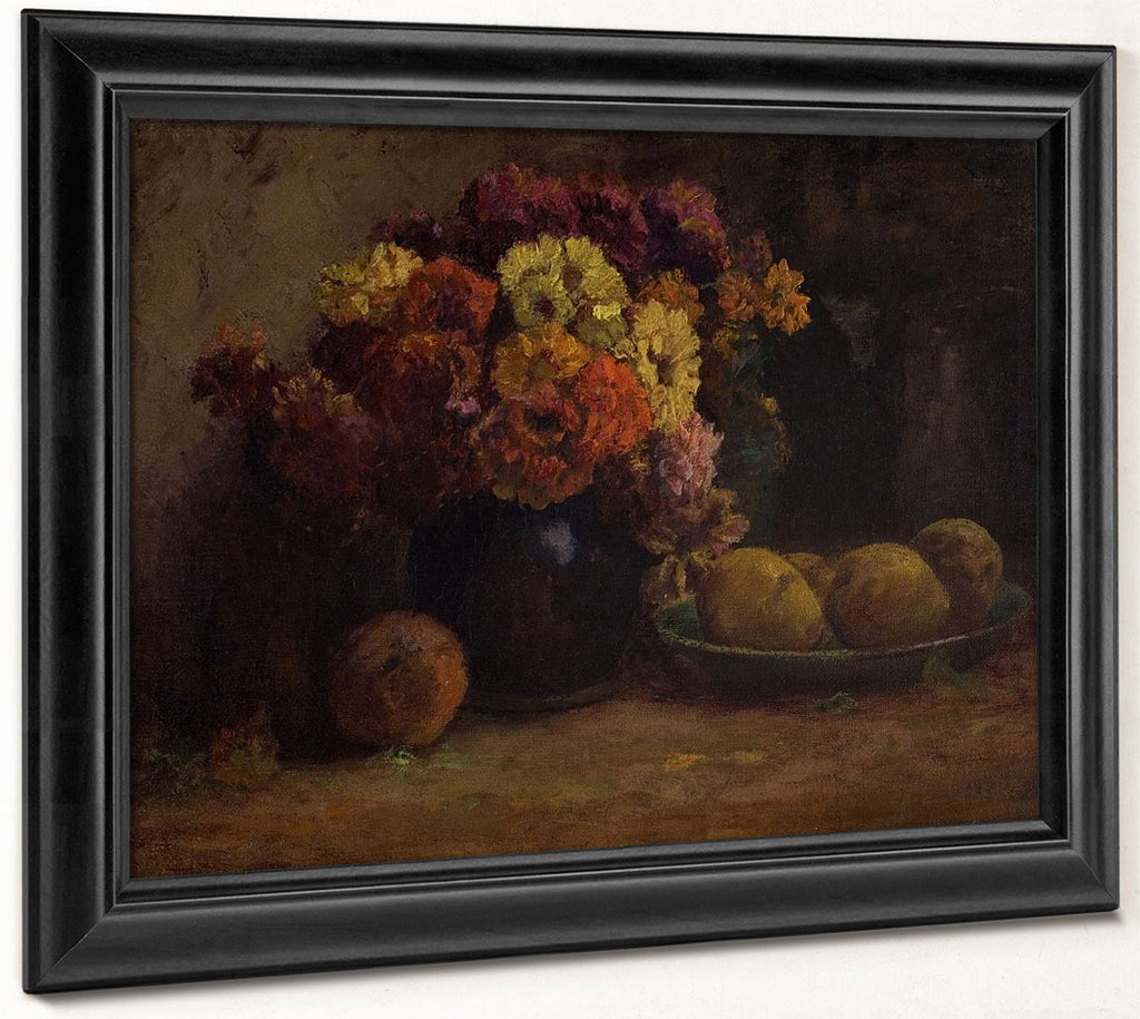 Fruit & Flowers By Theodore Clement Steele